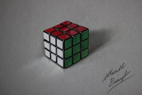 Dibujos-hiperrealistas-cubo-660x440
