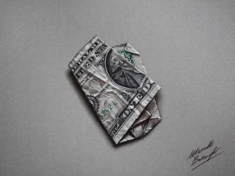 Dibujos-hiperrealistas-dolar-660x495