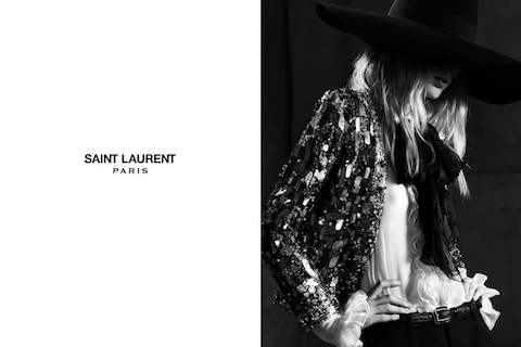 Saint Laurent's Spring 2013 Women's Ads 1