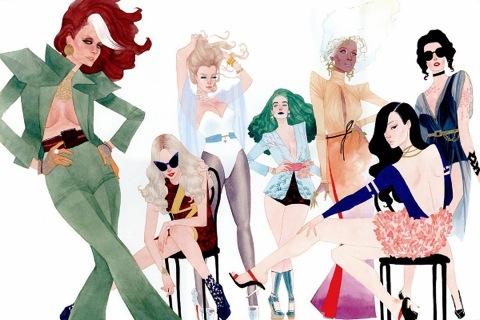 X-Men-a-la-moda