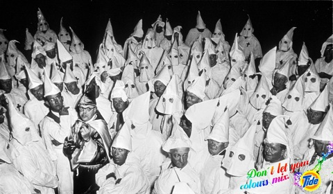 Ku Klux Klan (KKK) meeting, South Carolina, 1951. © Heirs of W. Eugene Smith