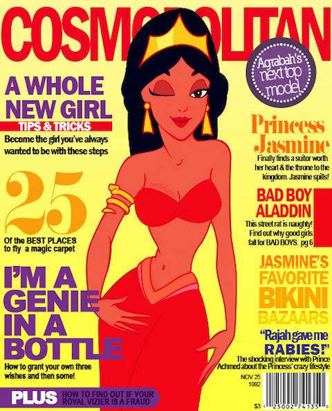 Disney-Princesses-on-Fashion-Magazines-01