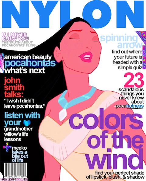 Disney-Princesses-on-Fashion-Magazines-04