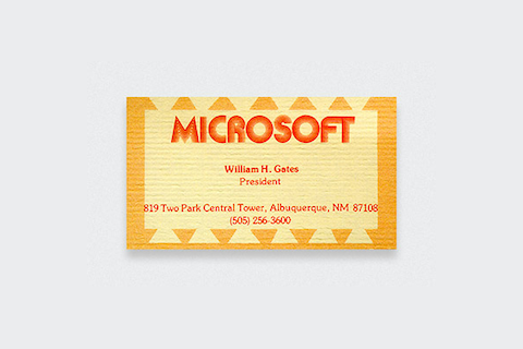 Microsoft-Business-Card