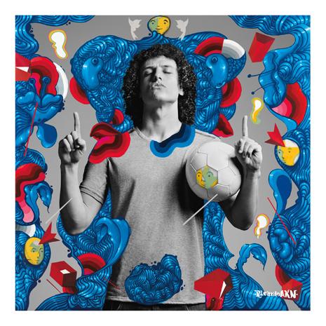 Artwork of David Luiz created