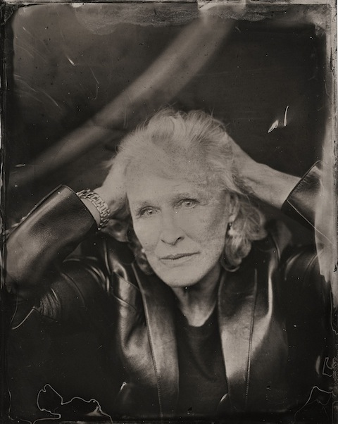 2014 Sundance TIn Type Portraits - Glenn Close