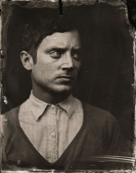 2014 Sundance TIn Type Portraits - Elijah Wood