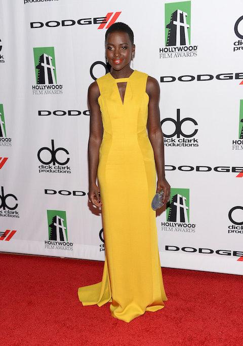 Lupita-Nyongo-worked-red-carpet-long-yellow-dress