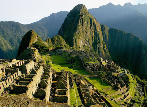 The-Machu-Picchu-ruins