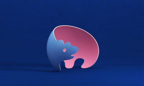 3d_2d_bear_logo-design