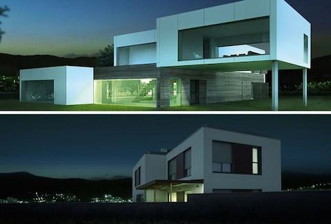 Dise o minimalista y elegante no est peleado con casas for Diseno casa minimalista