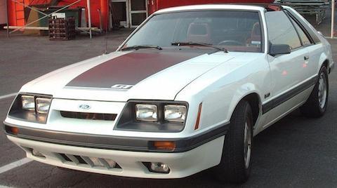 '85-'86_Ford_Mustang_5.0_Liftback_(Orange_Julep_'07)