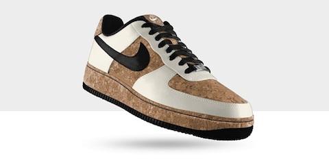 constantemente Conquistador Corbata  Nike presenta su nueva colección Air Force hechos con corcho | paredro.com