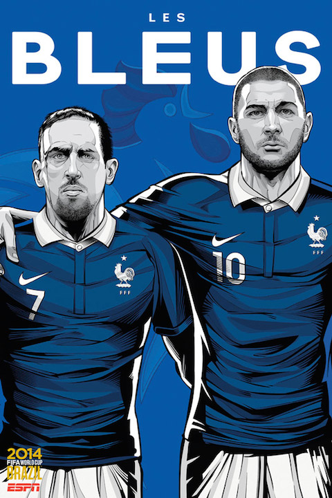 ESPN-WorldCupPoster-France-Franck-Ribery-Karim-Benzema