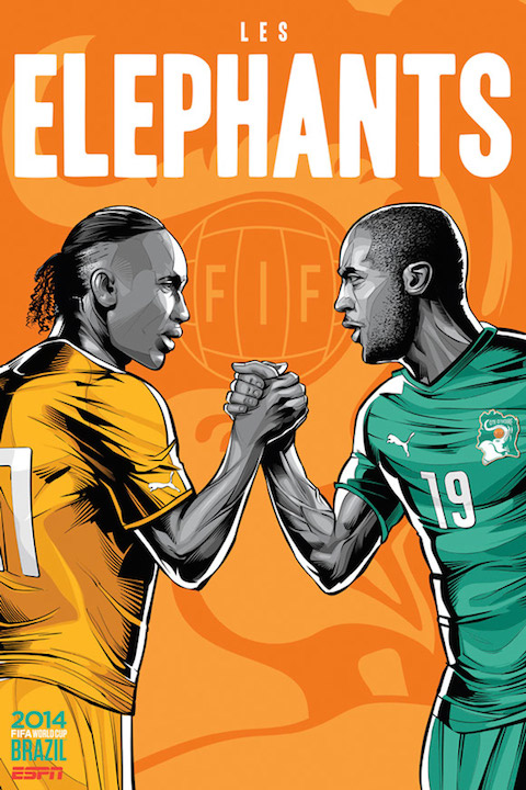 ESPN-WorldCupPoster-Ivory-Coast-Didier-Drogba-Yaya-Toure1