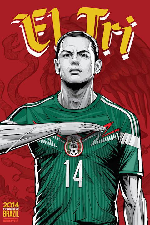 ESPN-WorldCupPoster-Mexico-Chicharito