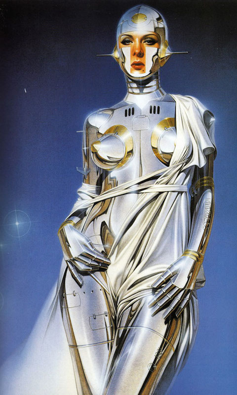 Hajime-Sorayama-Sexy-Robot