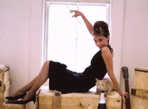 Audrey-Hepburn-in-Black-Dress