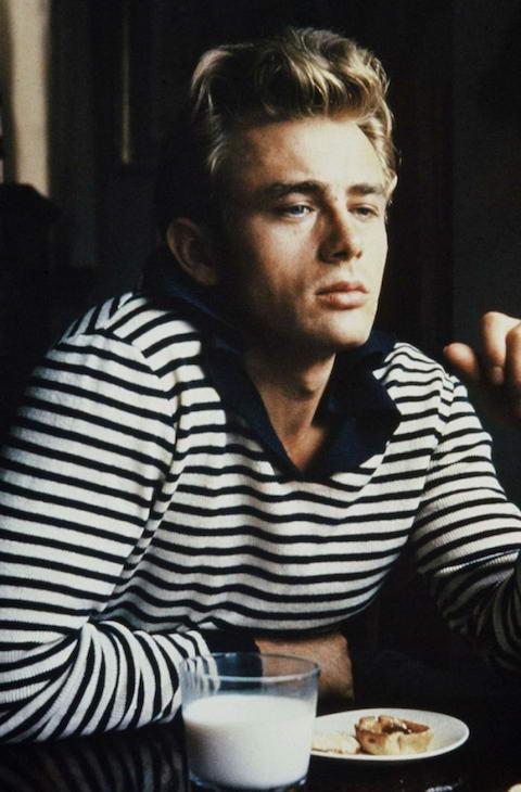 James-Dean-in-Breton-Stripes