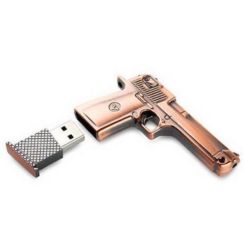 Metal-Gun-USB-Flash-Memory-Drive