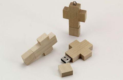 USB-Wooden-Cross-Drive