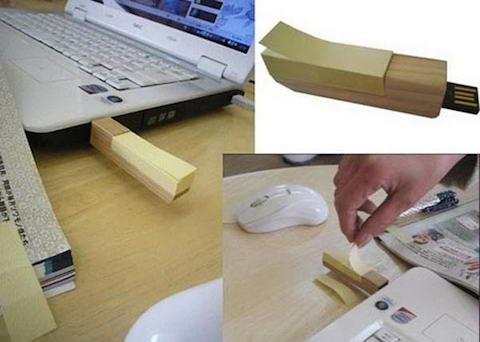 Wooden-Post-USB