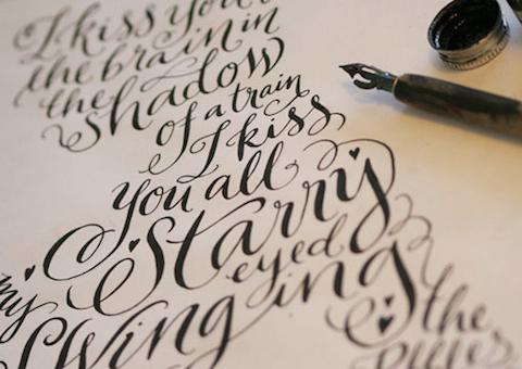 motivos caligrafía