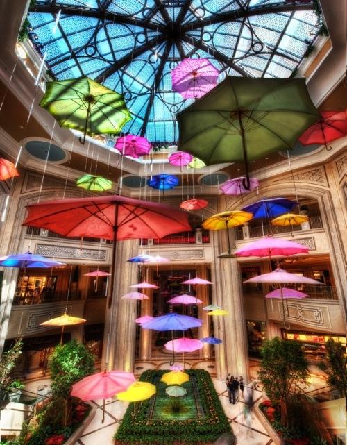 Umbrellas at the Shoppes at the Palazzo