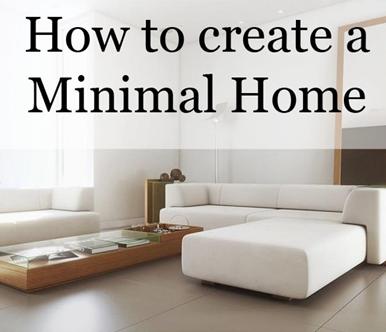 Gu a r pida para dise ar espacios minimalistas for Disenar espacios interiores