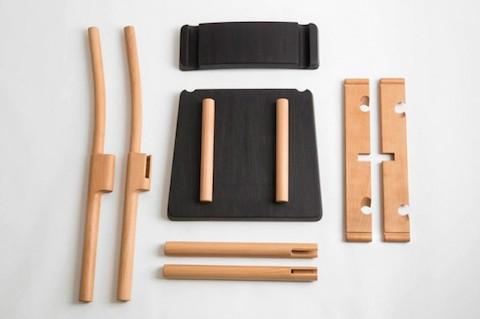 La silla que se puede armar sin pegamento clavos o for Flat pack muebles