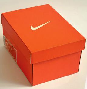 caja zapatos nike