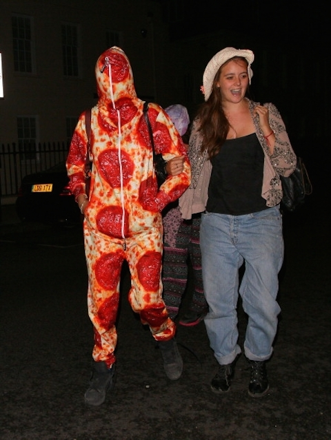 cara-delevingne-in-a-pizza-suit