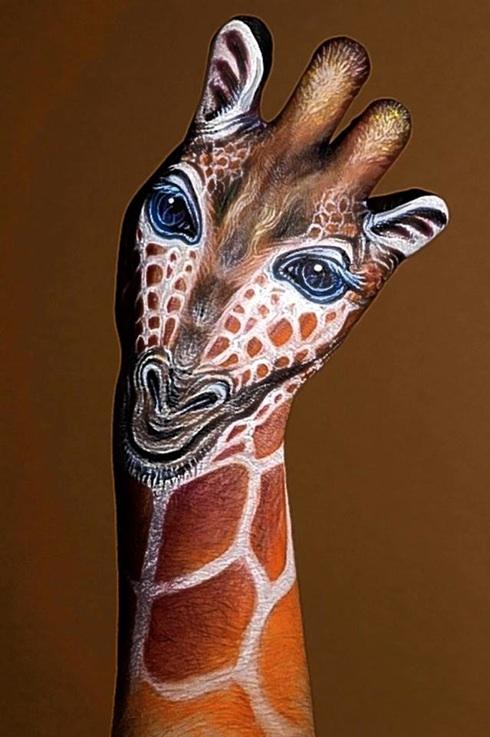 15 Extraordinarias Y Sorprendentes Obras De Body Paint Hecho En Las Manos Paredro Com