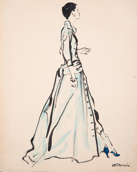 3035644-slide-s-22-40-years-of-fashion-illustration-from-dior26-rene-bouche-amercian-vogue-62x48cms