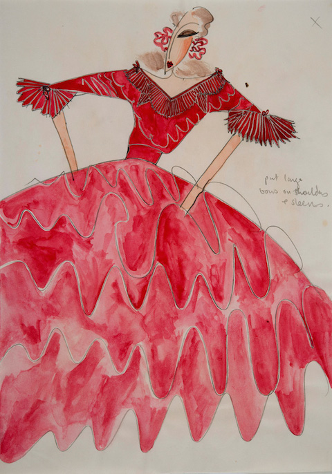 3035644-slide-s-35-40-years-of-fashion-illustration-from-dior38-zandra-rhodes-wedding-dress-ii-30x21cms