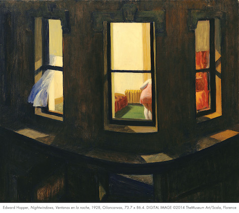Hopper, Edward (1882-1967): Night Windows. (1928).