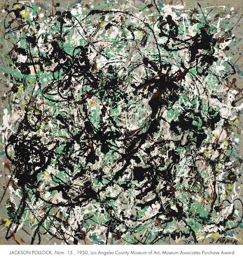 Jackson Pollock_No 15, 1950_LACMA