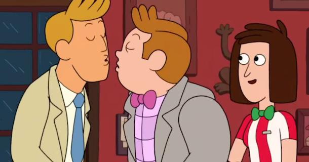 Rumor gay de tolerancia de Topher