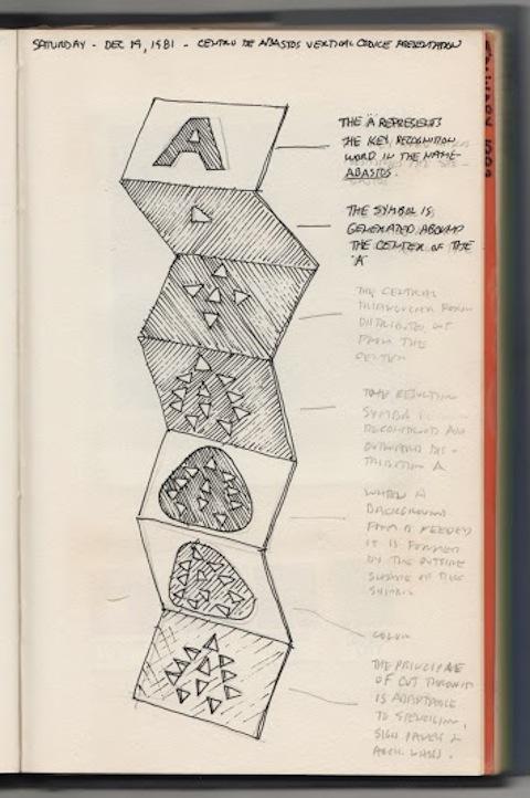 Boceto para aplicación del logo de la Central de Abastos. Cortesía MUAC