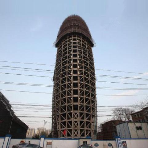 edificio pene China