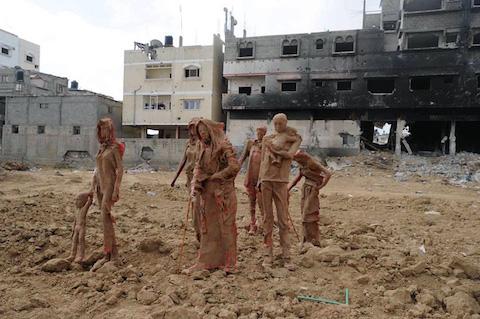 palestinian-artist-gaza-clay-sculptures-displacement-destruction-designboom-031