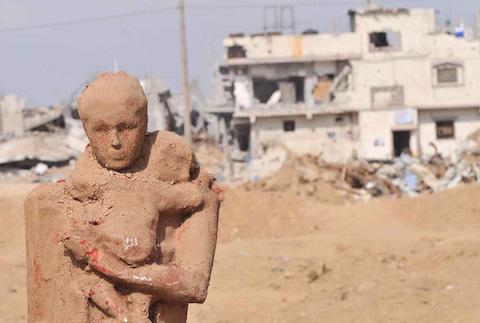 palestinian-artist-gaza-clay-sculptures-displacement-destruction-designboom-041