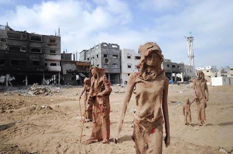 palestinian-artist-gaza-clay-sculptures-displacement-destruction-designboom-071