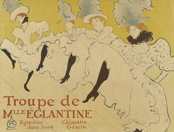 800px-Lautrec_la_troupe_de_mlle_eglantine_(poster)_1895-6