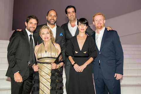 Varios actores mexicanos asistieron.