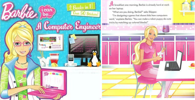 barbie programadora