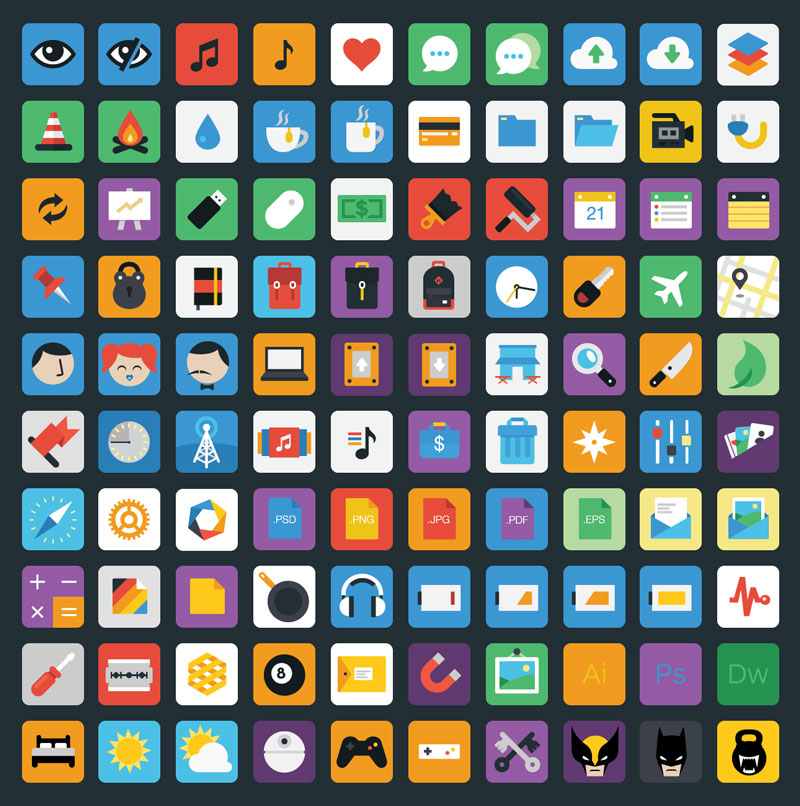 Stylicons-—-100-Royalty-Free-Flat-Icons