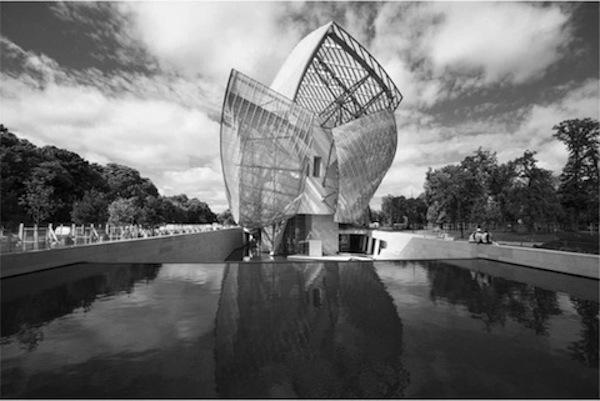 Fundación Louis Vouitton diseñada por Frank Gehery