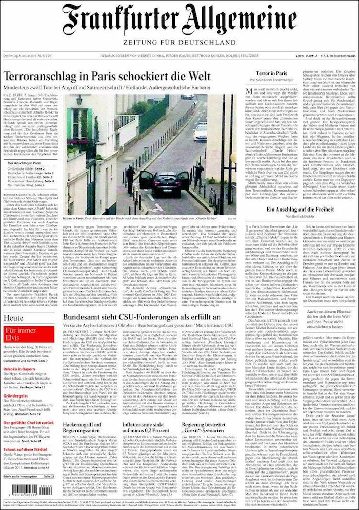 Franffurter Allgemeine (Alemania)