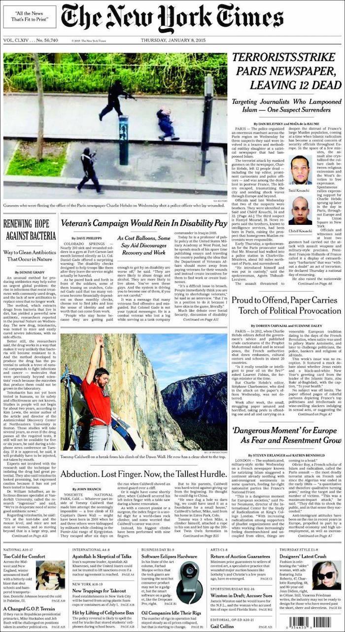 The New York Times (Estados Unidos de América)